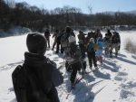 【イベント報告】雪原のトレッキング