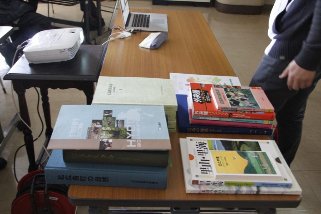 たくさんの書籍・おすすめ本もおしえてもらった。