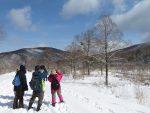 【再掲載】雪原のトレッキング