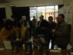 体を温める薬草茶、大人気【北広島町自然学術報告会】